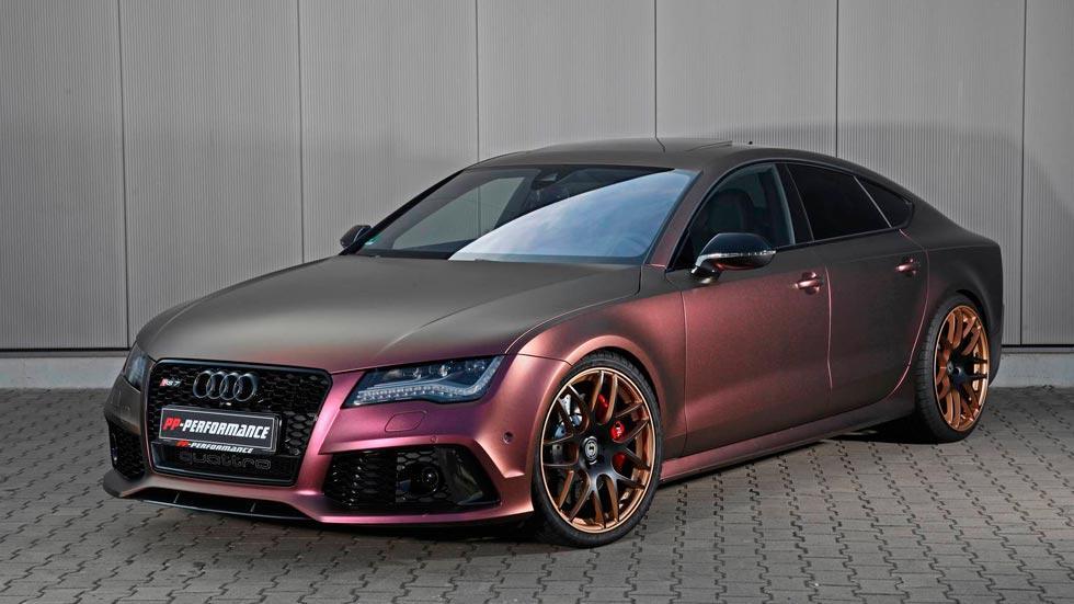 Audi RS7 PP-Performance Autobahn lujo deportivo berlina