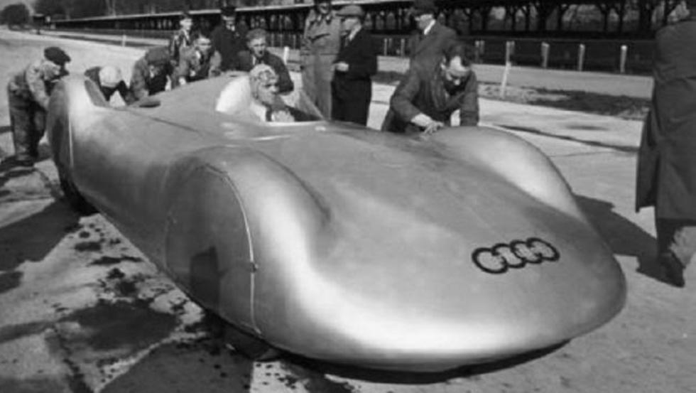 El Auto Union con el que falleció Rosemeyer tratando de batir el récord de velocidad