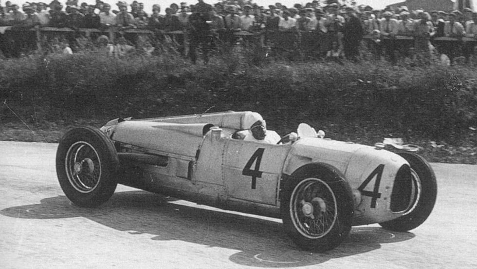 Auto Union Type A: Hans Stuck