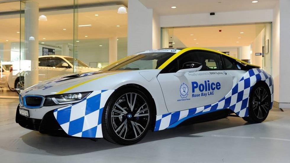 BMW i8 de la Policía australiana