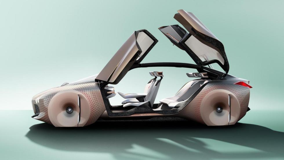 BMW iNext lateral eléctrico suv futuro coche