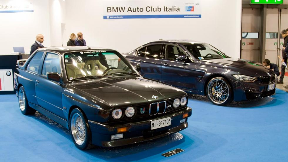 BMW M3 e30 f80 autoclassica 30 aniversario