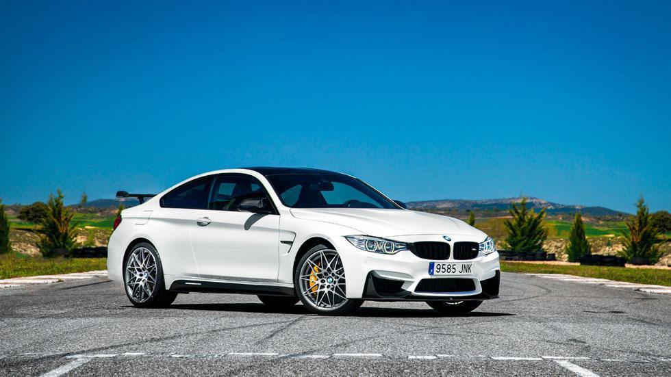 BMW M4 CS autobahn delantera deportivo
