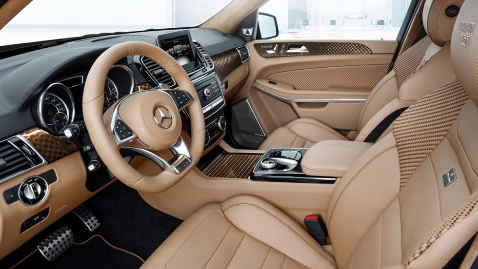 Brabus 850 XL: su interior es excelente