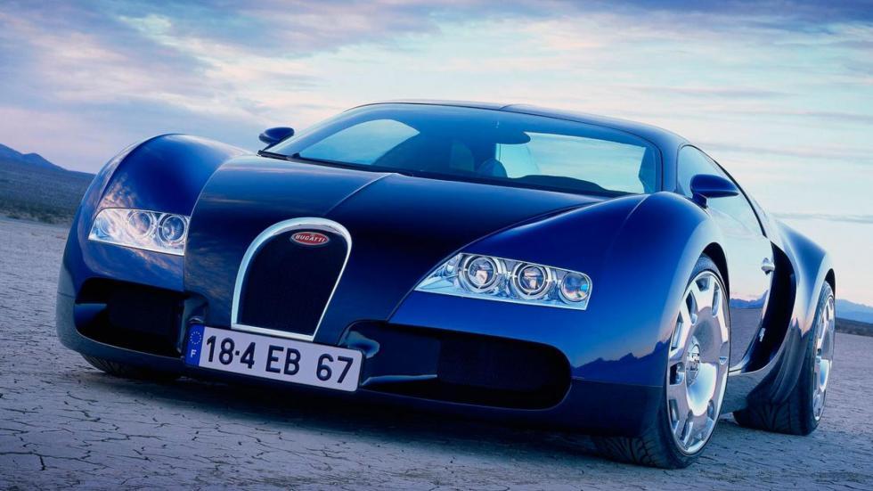Bugatti 18.4 Concept Veyron prototipo lujo deportivo clásico