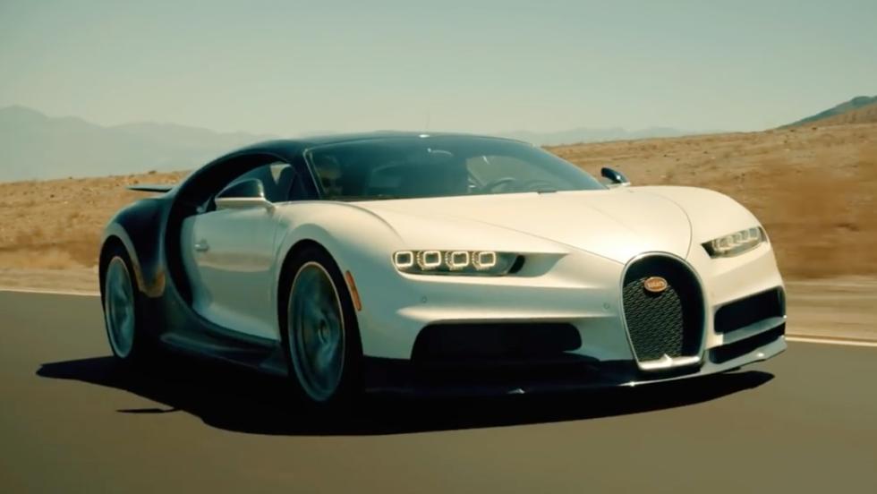 El Bugatti Chiron se enfrenta al Valle de la Muerte