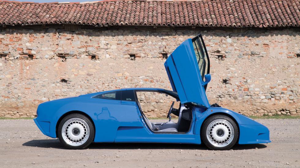 Bugatti EB110 GT Duemila Ruote supercars deportivos