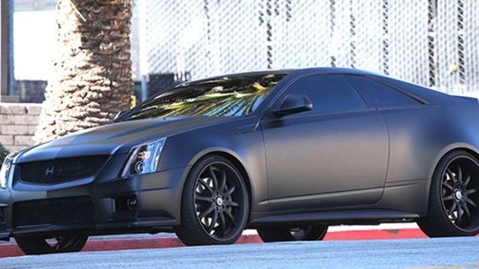El Cadillac CTS-V Coupé de Justin Bieber