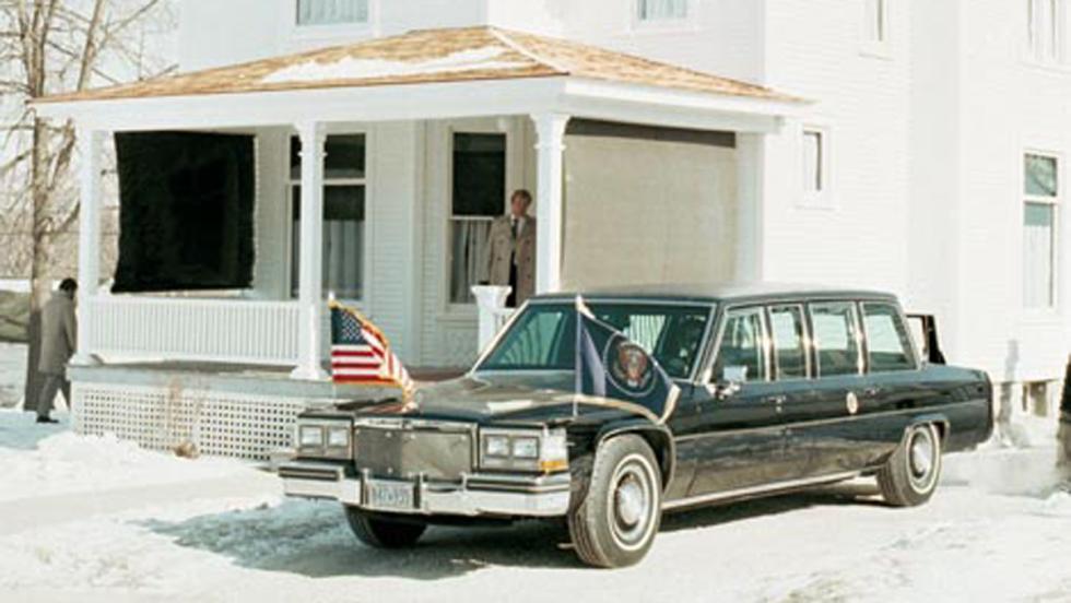 Cadillac Limousine de Ronald Reagan