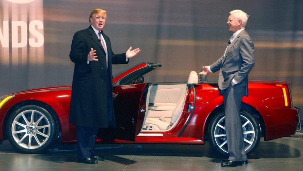 El Cadillac XLR-V de Donald Trump