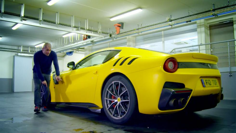 Chris Harris Ferrari prueba F12tdf F12 tdf 250 gt tour de france prueba