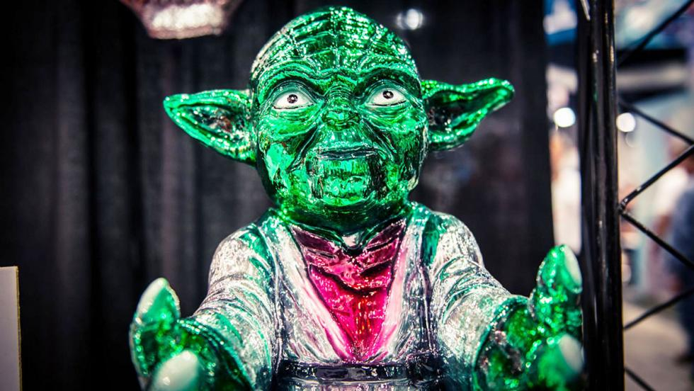 Chrome Yoda