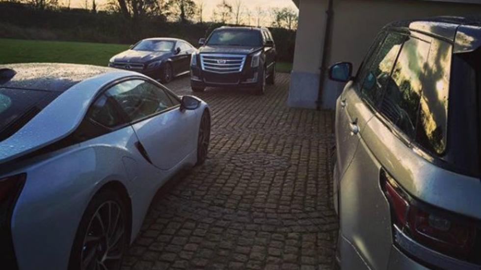Los coches de Conor McGregor