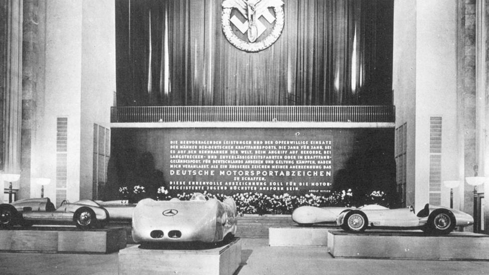 Los coches de F1 fueron empleados como un elemento propagandístico del régimen nazi