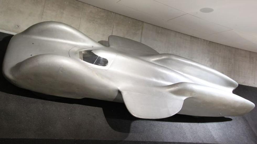 Los coches de F1 y de los récords de Hitler