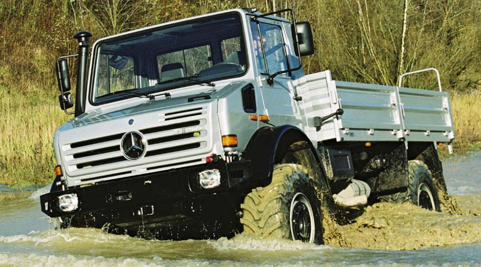 Coches feos pero prácticos - Mercedes-Benz Unimog