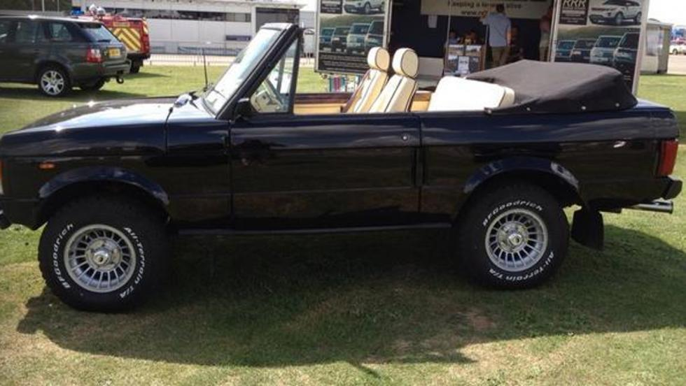 Los coches de Freddie Mercury: Range Rover Convertible de dos puertas