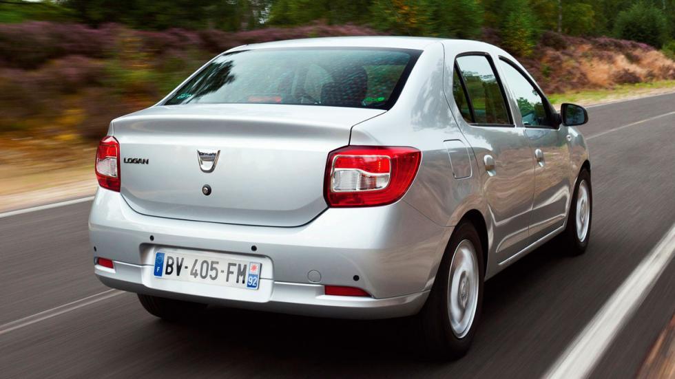 Dacia Logan coche barato rumania sedan familiar