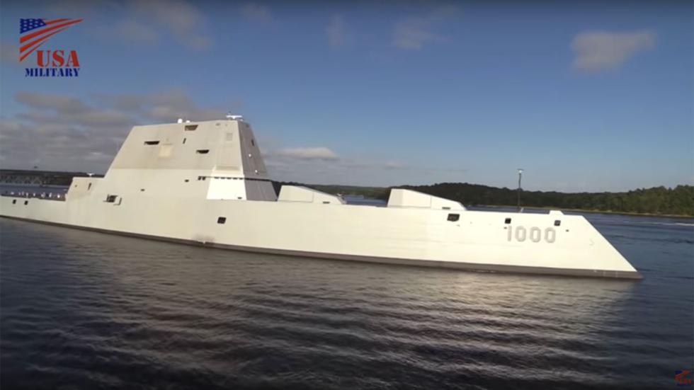 DDG 1000 Zumwelt destructor futuro barco guerra