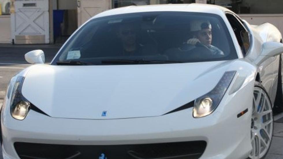 El Ferrari 458 de Justin Bieber