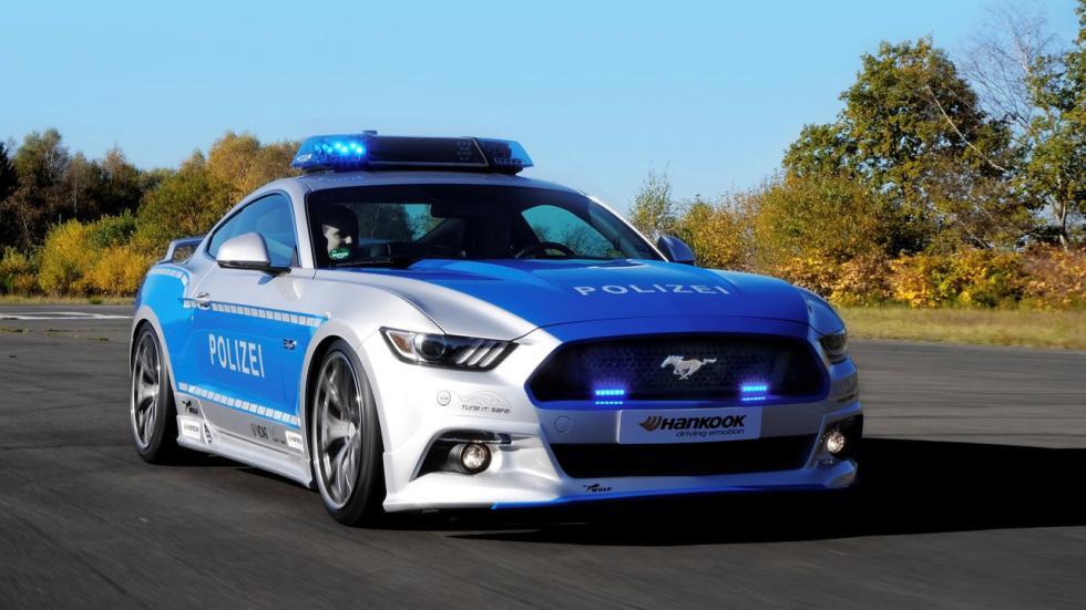 Ford Mustang tuneado de la Policía alemana (IX)