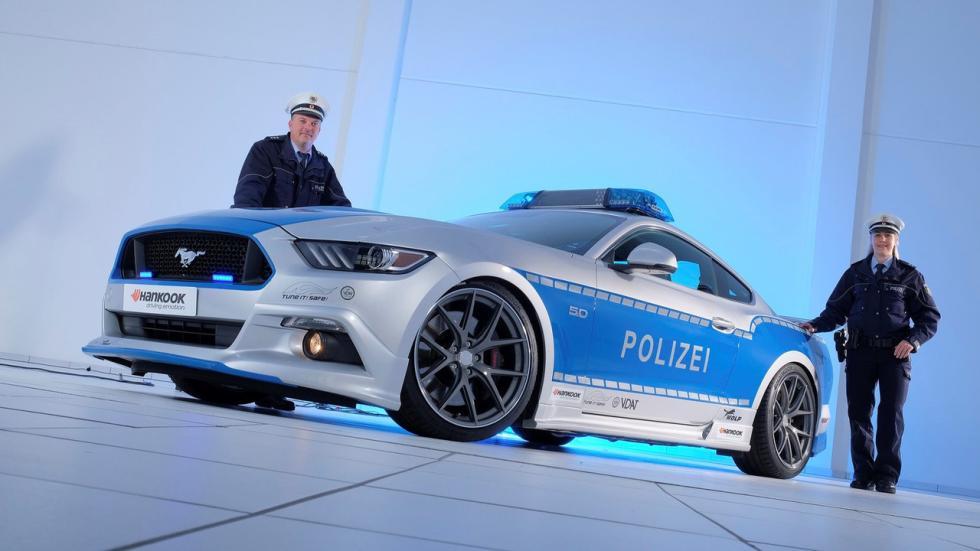 Ford Mustang tuneado de la Policía alemana (V)