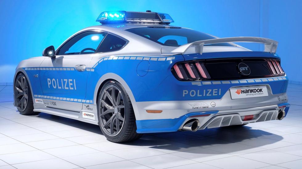 Ford Mustang tuneado de la Policía alemana (VI)