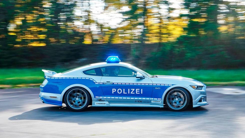 Ford Mustang tuneado de la Policía alemana (VIII)