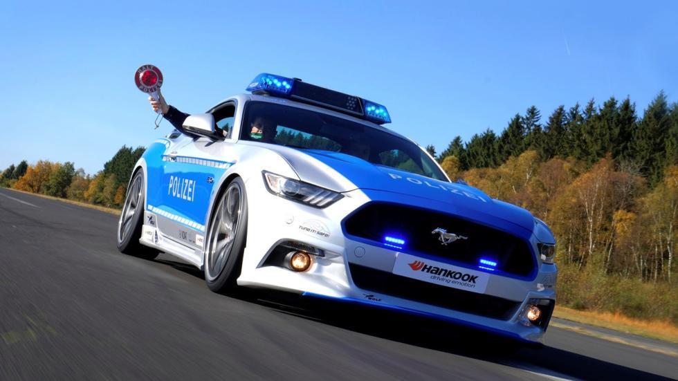 Ford Mustang tuneado de la Policía alemana