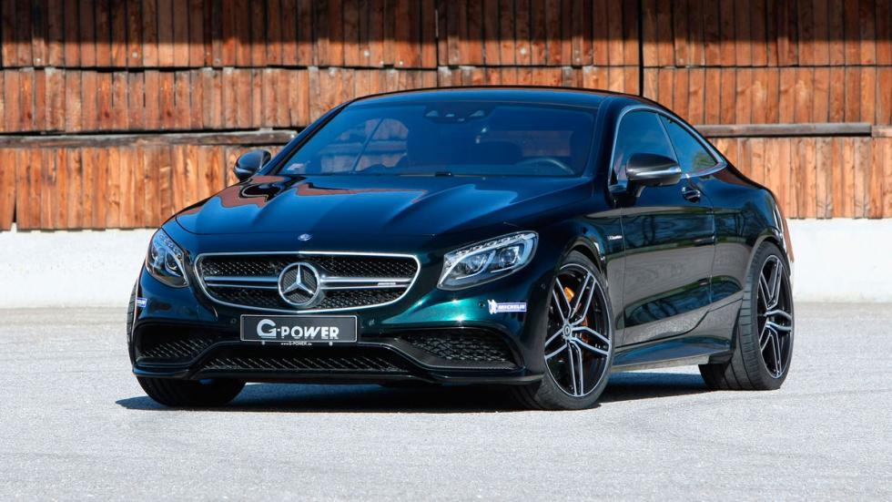 G-Power Mercedes-AMG S63 Coupé preparaciones chip lujo deportivo altas prestaciones verde