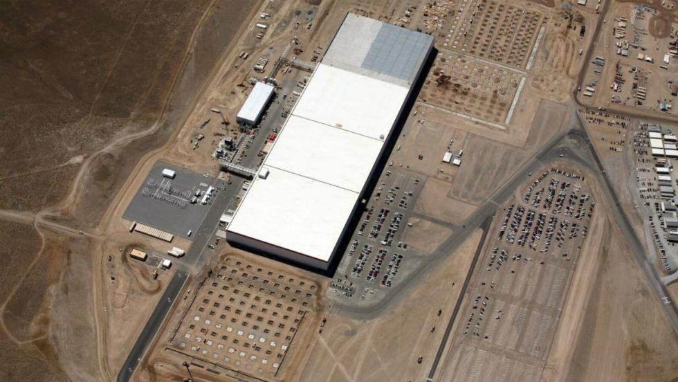 Gigafactoria de Tesla