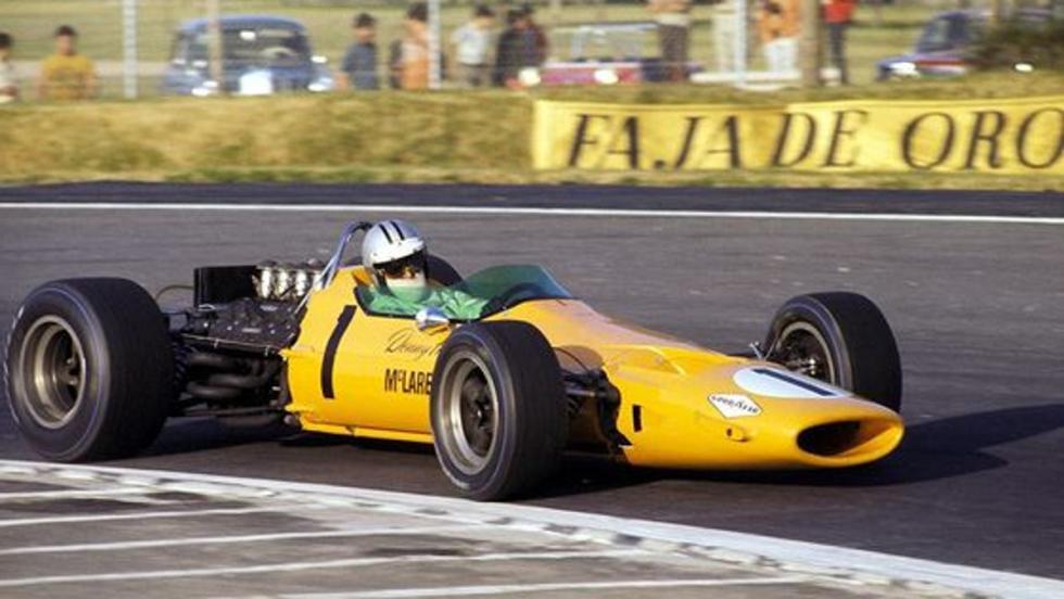 GP España 1968: Denny Hulme consigue el primer podio en la historia de McLaren