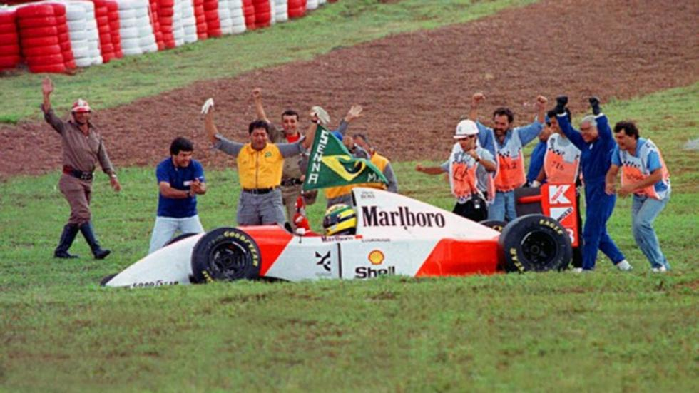 GP de F1 Brasil: La torcida carioca siente devoción por Ayrton Senna, su héroe nacional