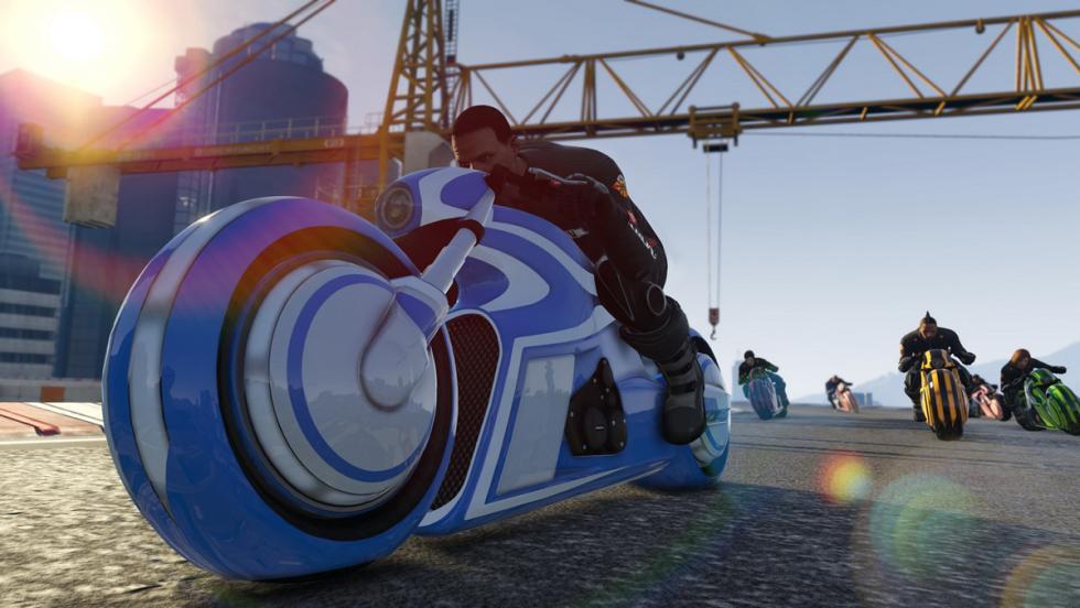 GTA Online Tron (I)