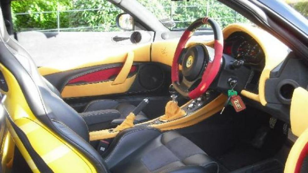 Interior del Lotus Evora S Freddie Mercury Edition