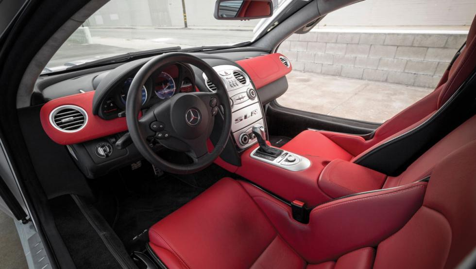 Interior del Mercedes McLaren SLR
