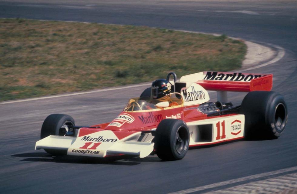 James Hunt y su M26, una seductora pareja que conquista el Mundial de 1976