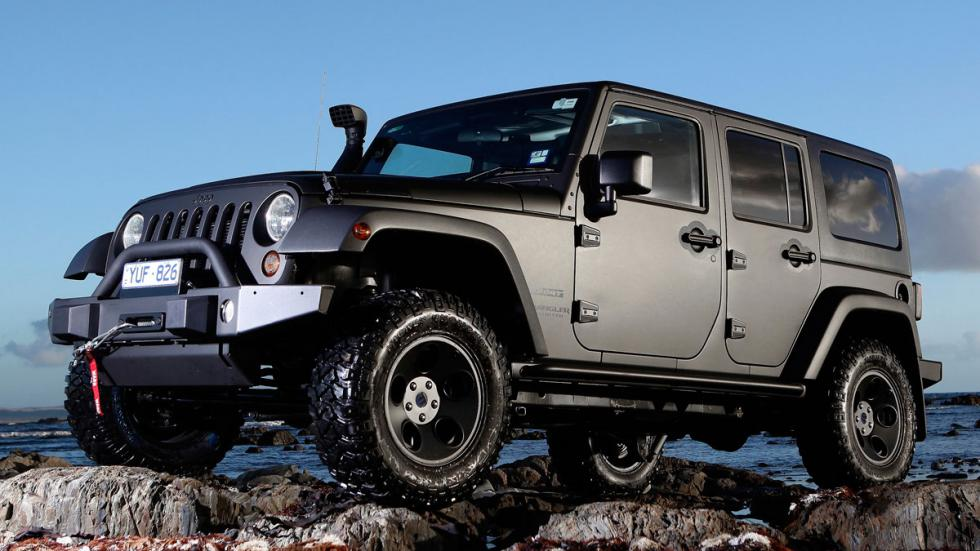 Jeep Wrangler off-road todoterrenos baratos 4x4
