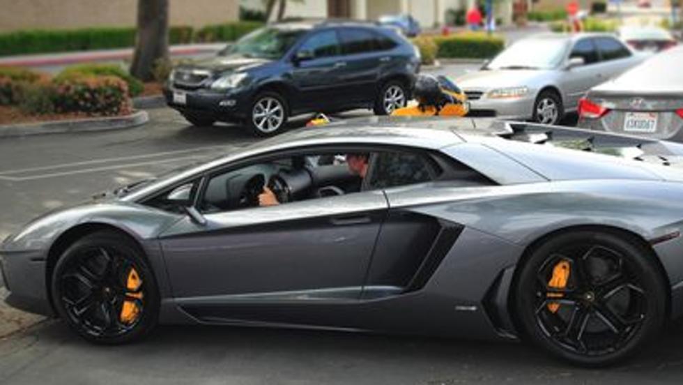 El Lamborghini Aventador de Justin Bieber
