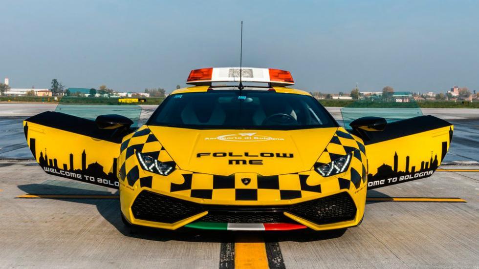 Lamborghini Huracán del Aeropuerto de Bolonia