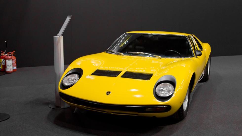 Lamborghini Miura amarillo autoclassica deportivo lujo