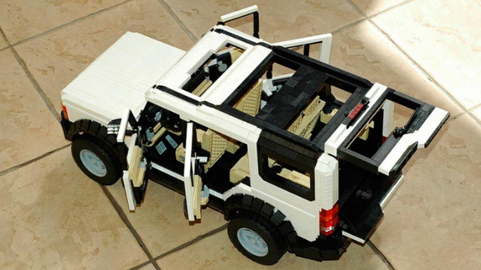 Land Rover Discovery 3 de Lego juguete