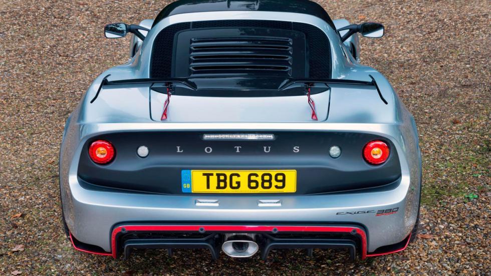 Lotus Exige Sport 380 deportivo altas prestaciones ligero superdeportivo inglés