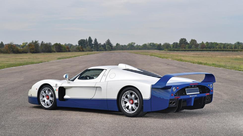 Maserati MC12 Duemila Ruote deportivo superdeportivo lujo
