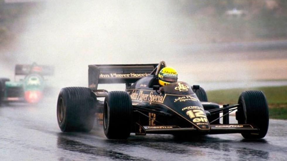 Las mejores carreras de F1 en lluvia