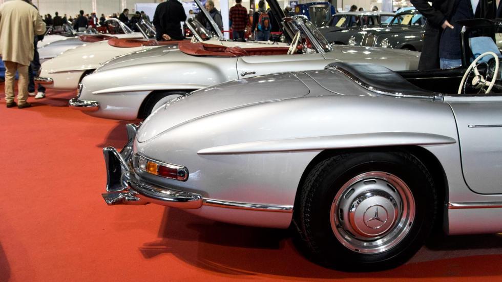 Mercedes SL clásicos lujo deportivos autoclassica