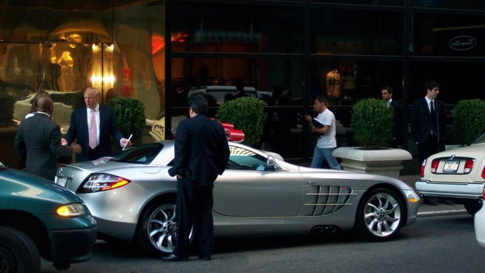 Mercedes SLR McLaren de Donald Trump