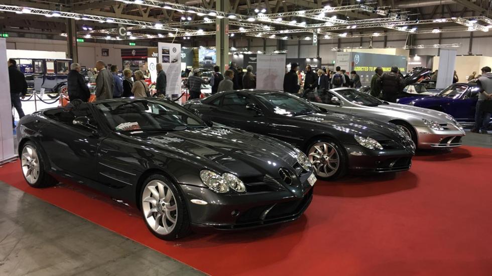 Mercedes SLR lujo deportivos autoclassica roadster
