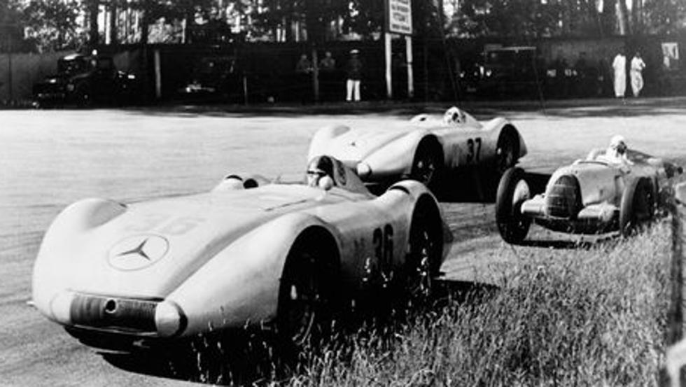 Mercedes vs Auto Union: el combate entre dos colosos de la velocidad