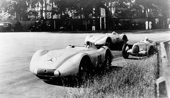 Mercedes vs Auto Union: una lucha entre colosos de la velocidad